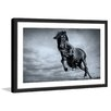 Marmont Hill 'Blue Baroque' Framed Photographic Print on Paper