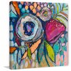 Marmont Hill 'Floral Dimensions' Painting Print on Wrapped Canvas