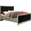 Derry's Sofia Mock Croc Velvet Upholstered Bed