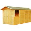 dCor design Jersey 7 x 13 Wooden Storage Shed