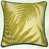 McAlister Textiles Novelty Tapestry Green Forest Fern Cushion Cover