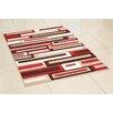Hazelwood Home Figaro Red Area Rug