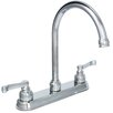 Huntington Brass Sienna Double Handle Standard Kitchen Faucet