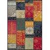 World Menagerie Hara Kaleidoscope Multi-Coloured Rug