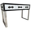 All Home Traveller Mirrored Console Table