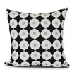 Waller Button Up Geometric Outdoor Throw Pillow
