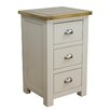 Hazelwood Home Painted 3 Drawer Bedside Table