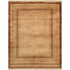 Pasargad Modern Lamb's Wool Hand-Knotted Camel Area Rug