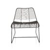 New York Metal Linear Side Chair