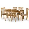 All Home Ibsen Extendable Dining Table and 6 Chairs