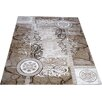 Castleton Home Moon Beige/Brown Area Rug