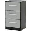 Riley Ave. Macy 3 Drawer Bedside Table