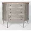 Home Etc Chateau Half Moon Storage Console Table