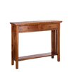 ChâteauChic Mahogany Wood Classic 2 Drawer Console Table