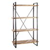 Château Chic 200cm Wood and Metal Shelving Unit
