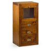 Bay Isle Home Guildhall 3 Drawer, 1 Door Cabinet