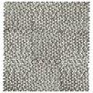"EliteTile Astraea 0.62"" x 0.62"" Porcelain Mosaic Tile in Gray/White"
