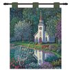 Manual Woodworkers & Weavers Sanctuary 3 Tabs Tapestry and Wall Hanging