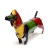 Rustic Arrow Weiner Dog Statue