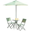 Urban Designs Havana 2 Seater Bistro Set with Parasol