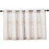 No. 918 Millennial Montego Casual Textured Kitchen Curtain Tier Pair (Set of 2)