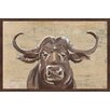 Hazelwood Home 'No Bull' Framed Acrylic Painting Print