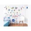 dCor design Nautical 3 Piece Wall Sticker Set