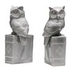 Castleton Home Owl on Book Bookends (Set of 2)