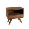 Hokku Designs Nachttisch mit Schublade