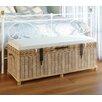 Beachcrest Home Petunia Storage Bedroom Bench