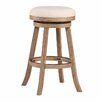 "Lark Manor 29"" Swivel Bar Stool with Cushion"