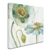 Trademark Fine Art 'My Greenhouse Flowers V' Print on Wrapped Canvas
