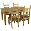 Andover Mills Corona Extendable Dining Set with 4 Chairs