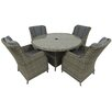 Prestington Wentworth 4 Seater Dining Set with Cushions