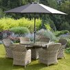 Prestington Wentworth Imperial 6 Seater Dining Set with Cushions