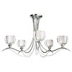 Fairmont Park Calaver 5 Light Semi Flush Mount