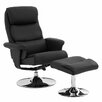 Castleton Home Recliner Chair with Footstool