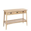 Château Chic Wood 3 Drawer Console Table
