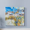 Breakwater Bay 'Daisies Amongst the Pebbles' by Chris Forsey Framed Wall art on Canvas