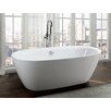 "Bellaterra Home Palermo 67"" x 32"" Freestanding Soaking Bathtub"