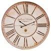 One Allium Way Oversized Rafeala 60cm Wall Clock