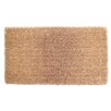 Elite Home Collection Natural Coir Indoor/Outdoor Entrance Doormat