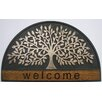 Elite Home Collection Infinity Tree Entrance Welcome Coir Doormat