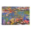 Alcott Hill Water Lilies, 1916' by Claude Monet Graphic Art Print