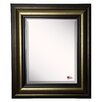 Brayden Studio Rectangle Stepped Antique Wall Mirror