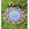 Wind & Weather Colorful Flower Garden Stepping Stone