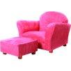 Jovanni Kids Club Chair and Ottoman