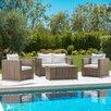 Zumwalt 4 Piece Seating Group with Cushion