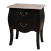 Hokku Designs 2 Drawer Bedside Table