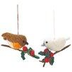 Home Loft Concept Birds 2 Piece Hanging Figurine Set